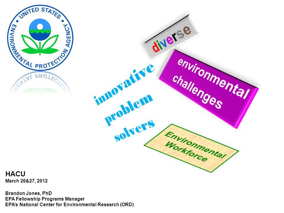 Environmental Protection Agency (protect Human Health & the Environment) Undergraduate Graduate Post-graduate