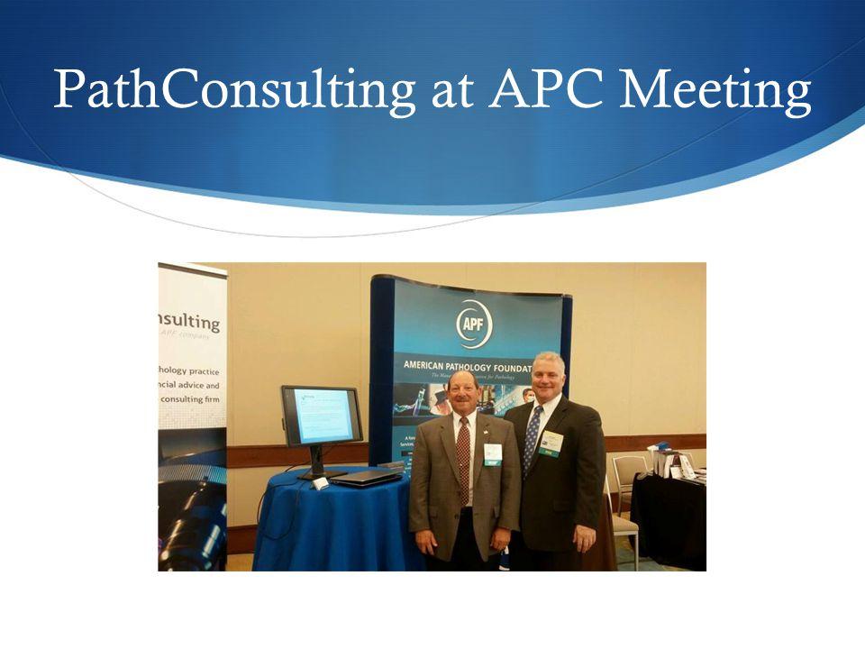 PathConsulting at APC Meeting