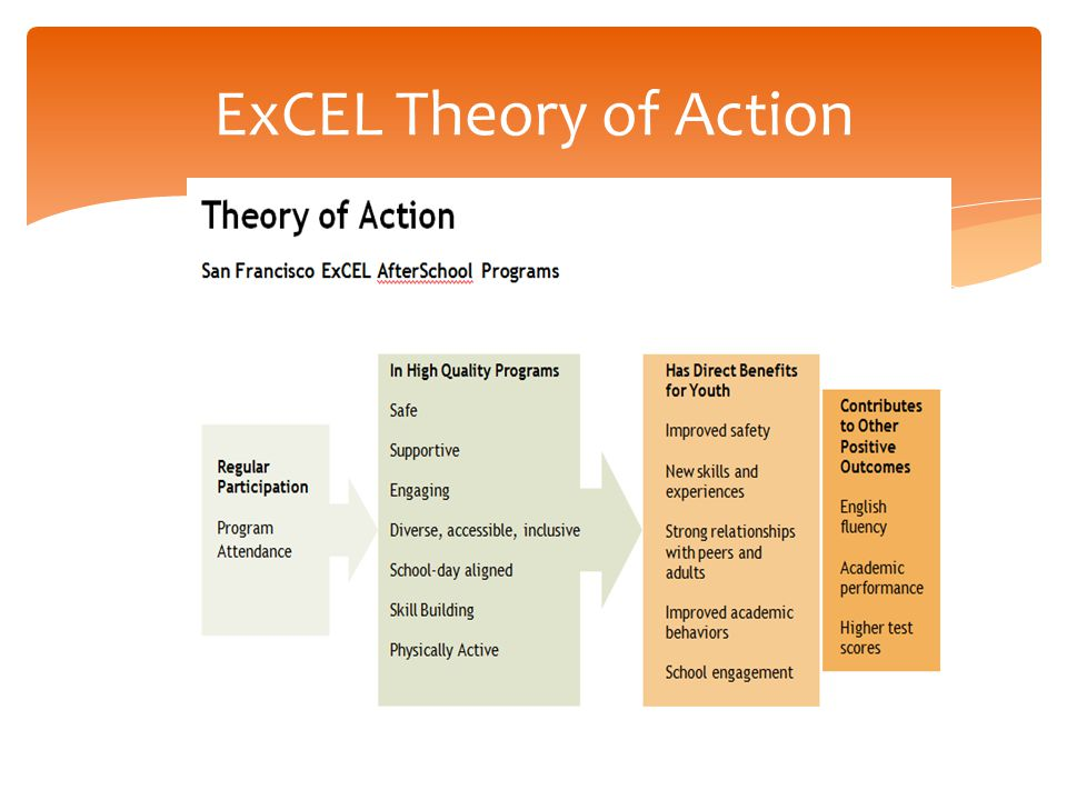 ExCEL Theory of Action