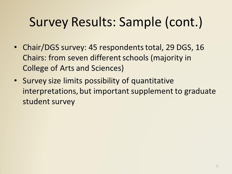 Results: Graduate Student Recruitment Why Did Graduate Students Choose IU.