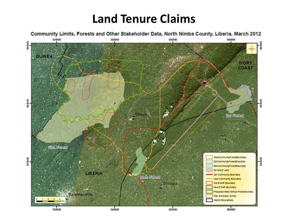 Land Tenure Claims