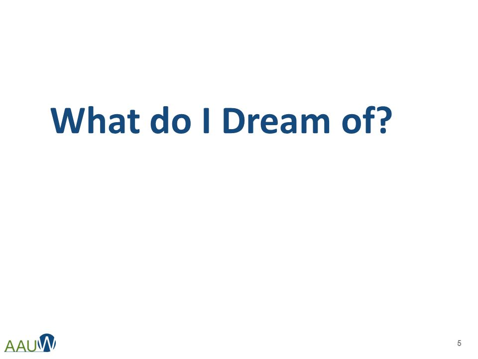 What do I Dream of? 5