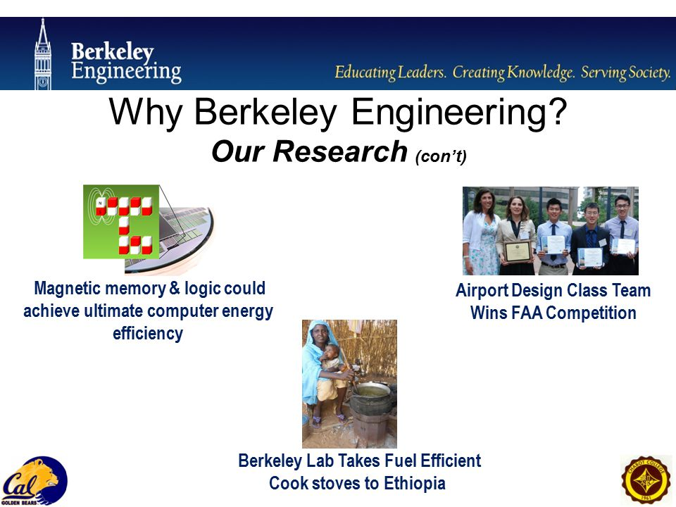 Why Berkeley Engineering.