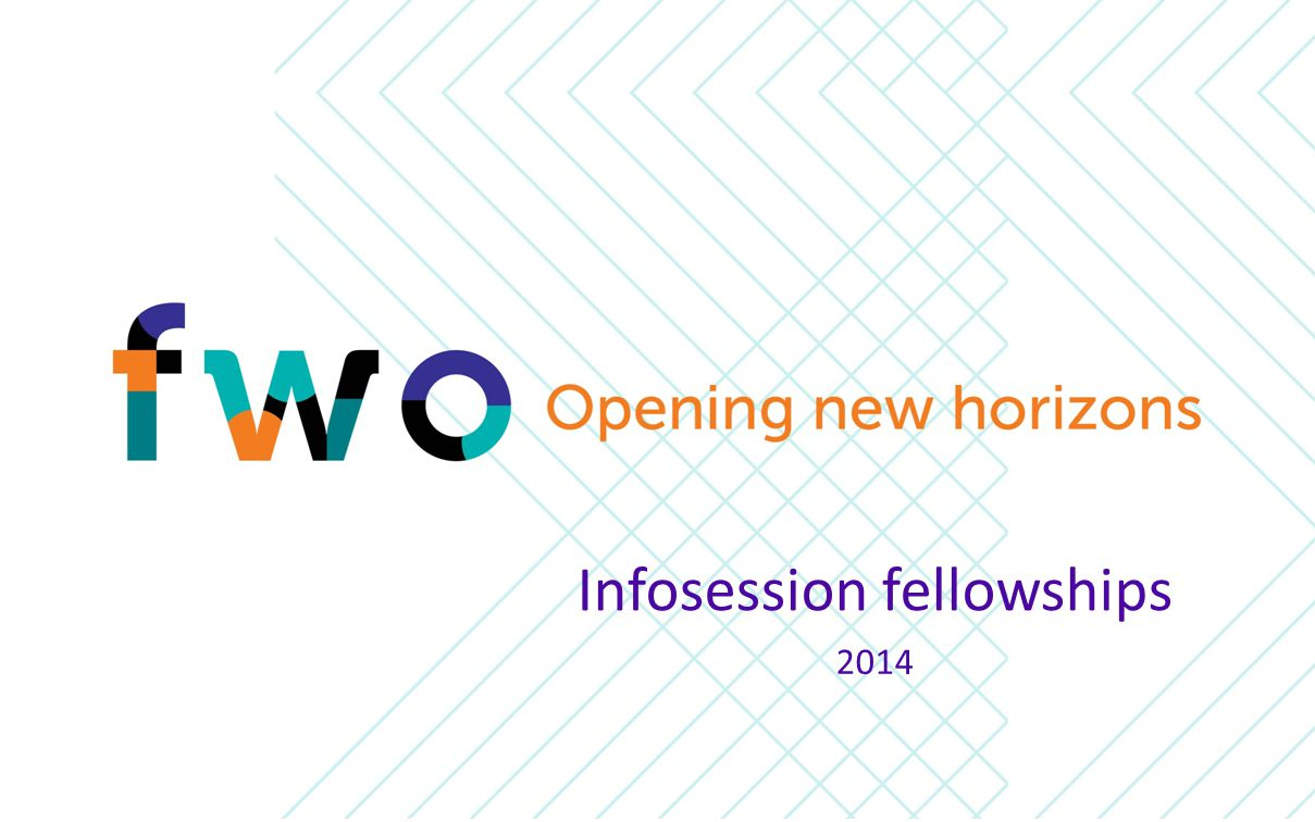 2014 Infosession fellowships
