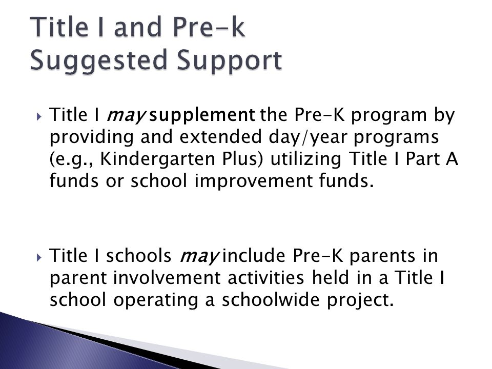 An LEA may use Title I funds to support activities involving the arts provided those activities are part of an instructional strategy that is designed to improve the teaching and learning of at-risk students.