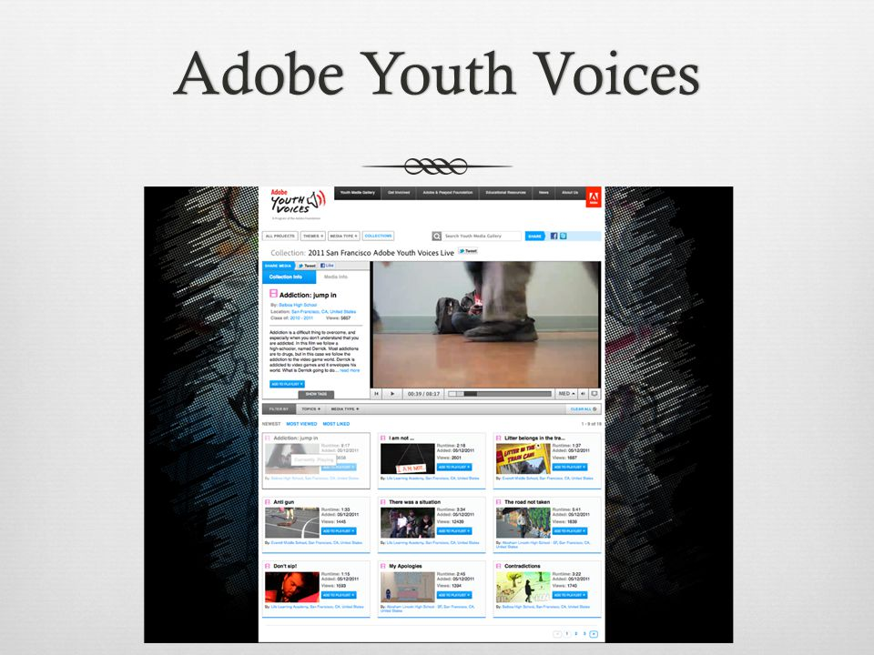 Adobe Youth VoicesAdobe Youth Voices