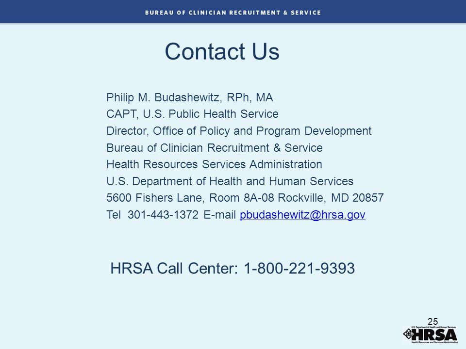 Contact Us Philip M. Budashewitz, RPh, MA CAPT, U.S.