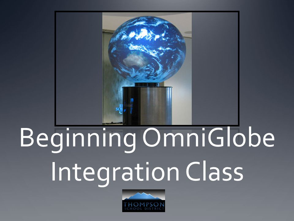 Beginning OmniGlobe Integration Class