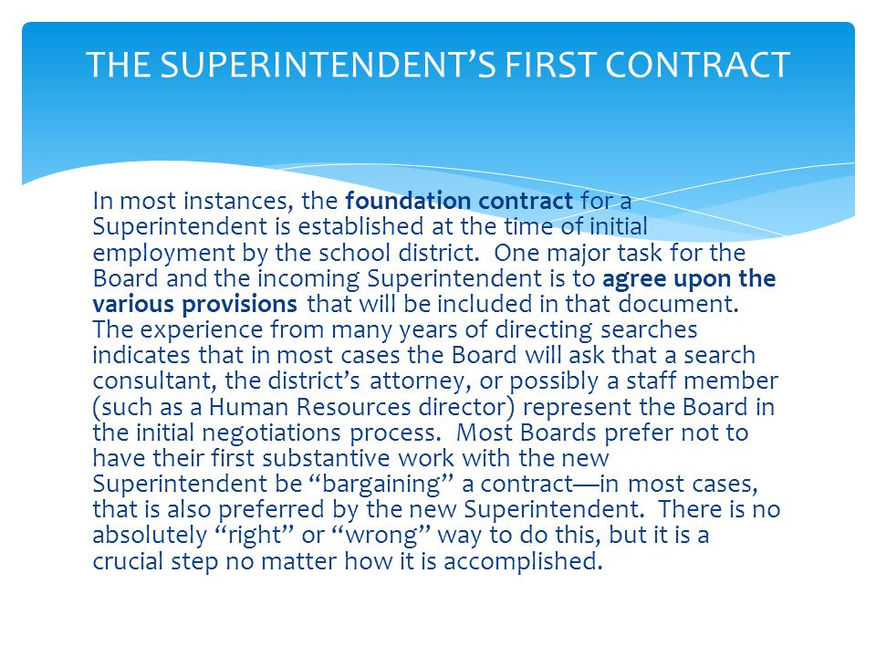 A Board may offer a one year, two year or three year contract under Washington law.