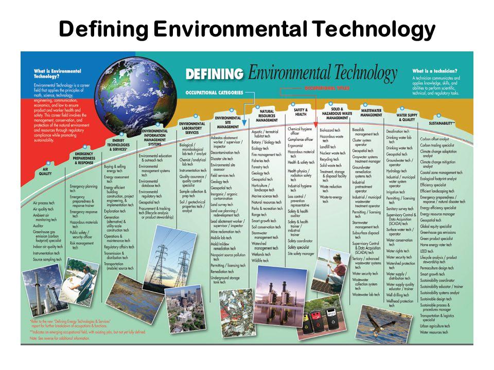 Defining Environmental Technology