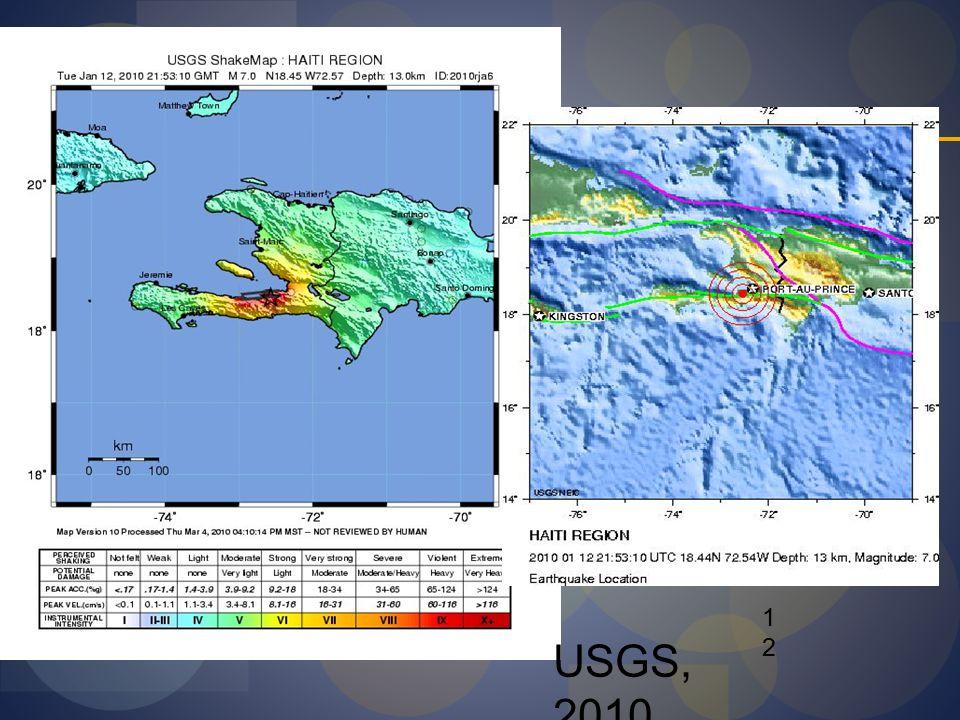 12 USGS, 2010