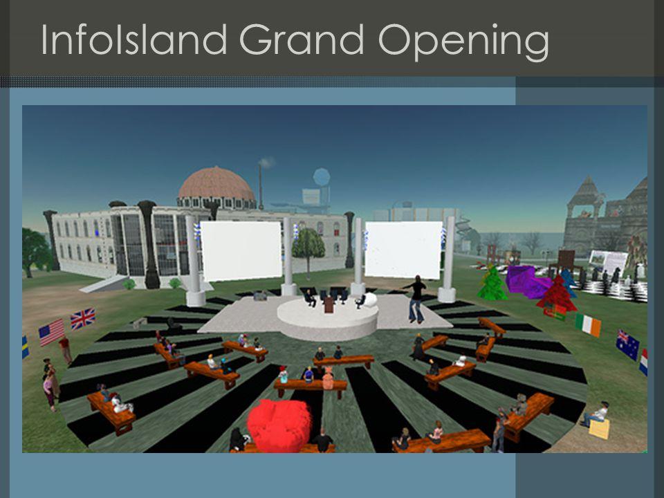 InfoIsland Grand Opening