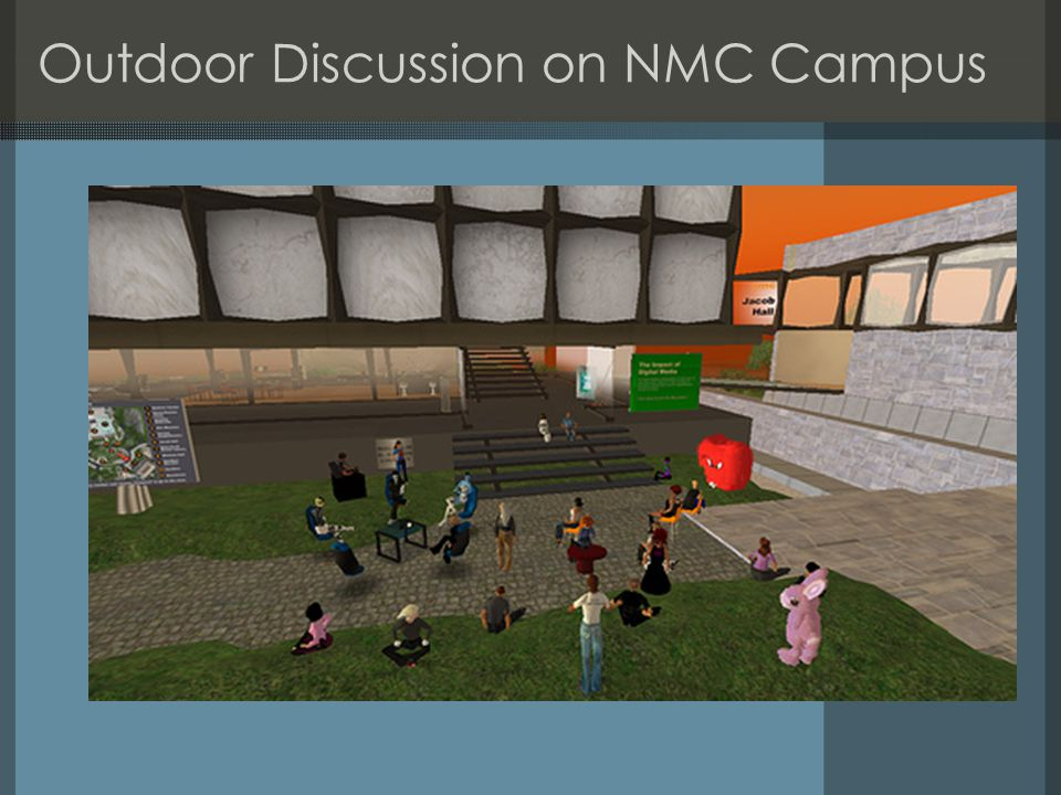 Outdoor Discussion on NMC Campus