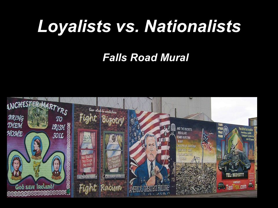 Falls Road Mural