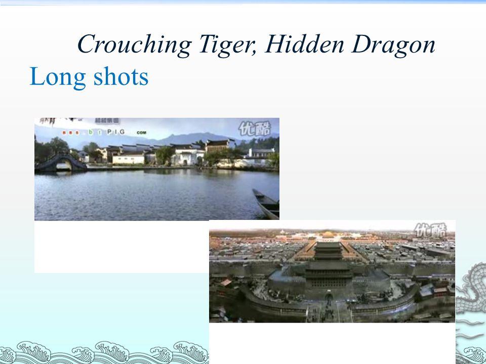 Crouching Tiger, Hidden Dragon Long shots