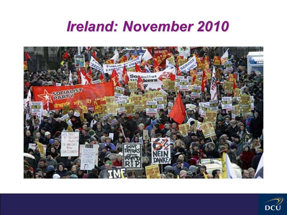 Ireland: November 2010