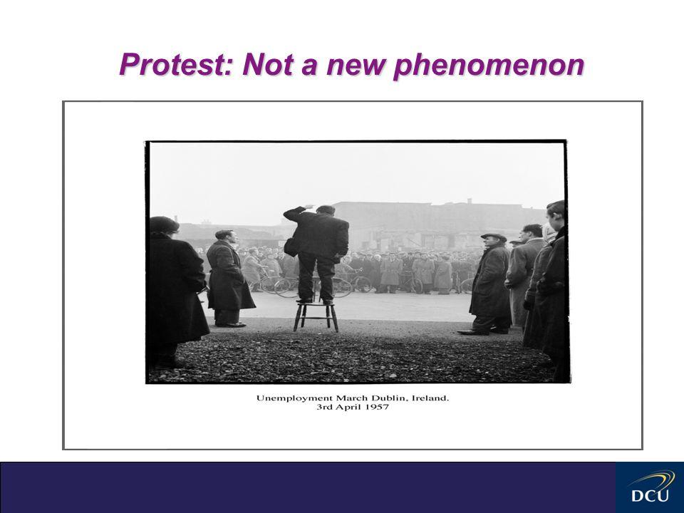 Protest: Not a new phenomenon