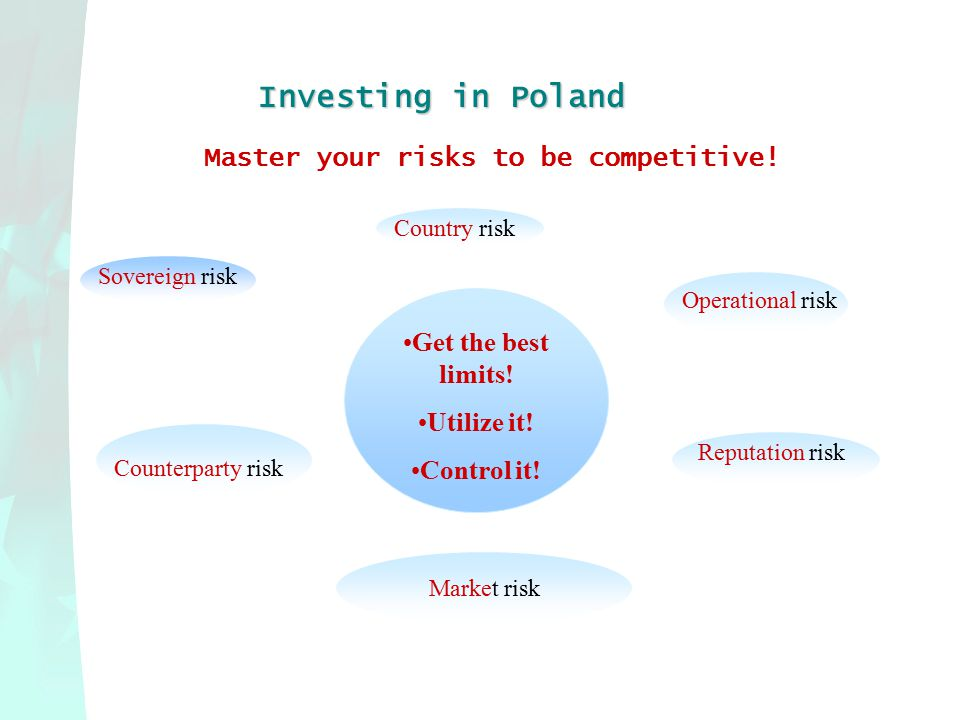 Investing in Poland Master your risks to be competitive.