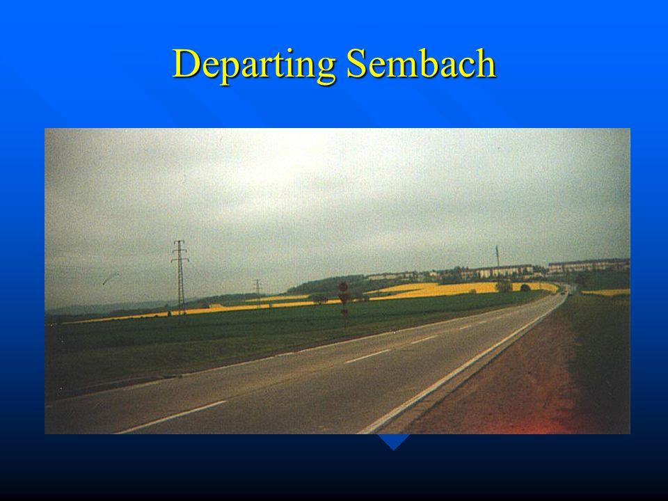 Sembach Flight Line