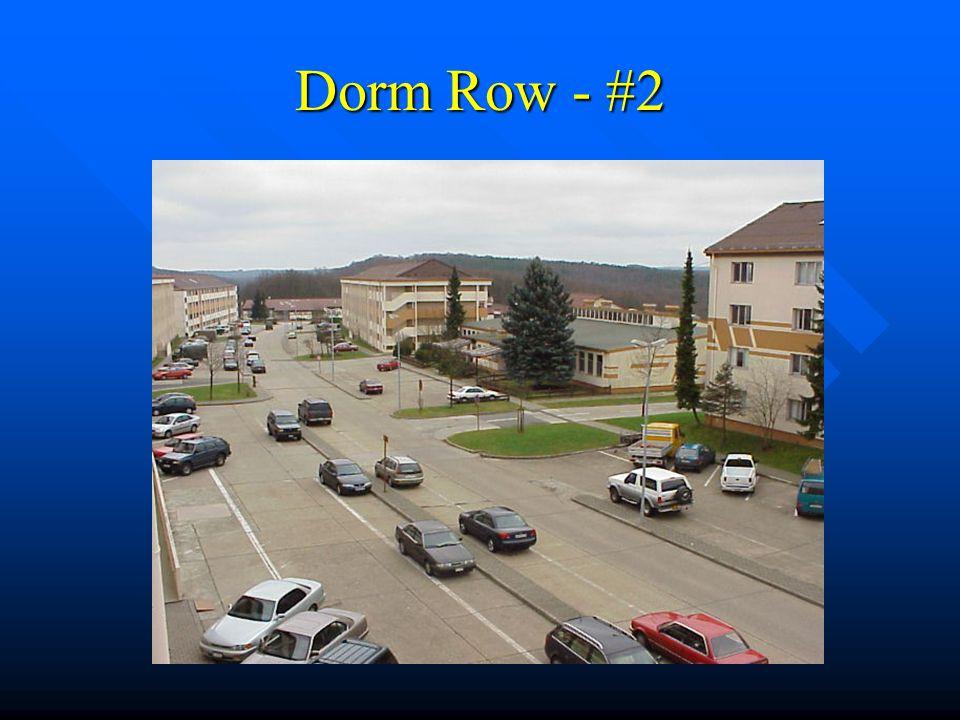 Dorm Row – Photo #1