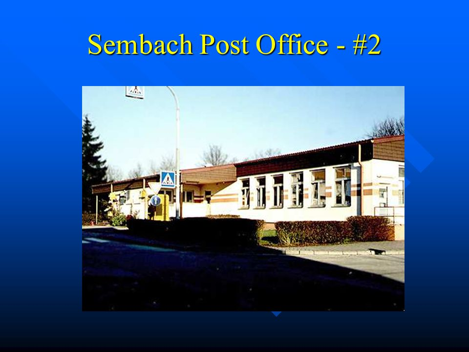 Sembach Post Office - #1