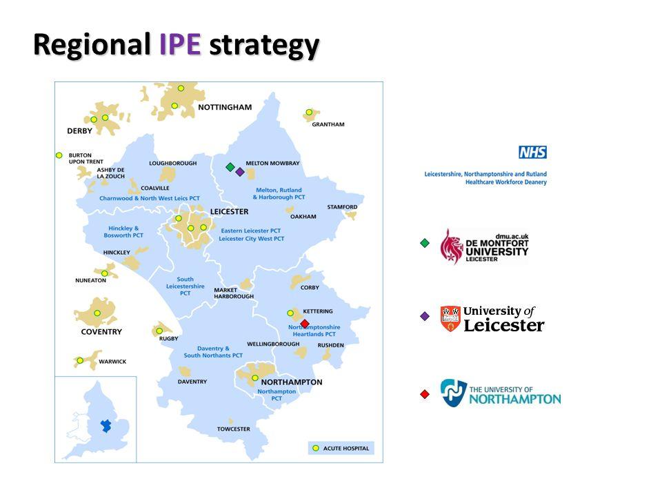 Regional IPE strategy