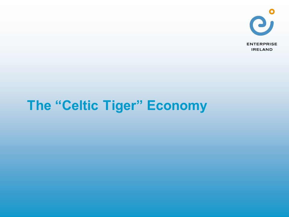 The Celtic Tiger Economy