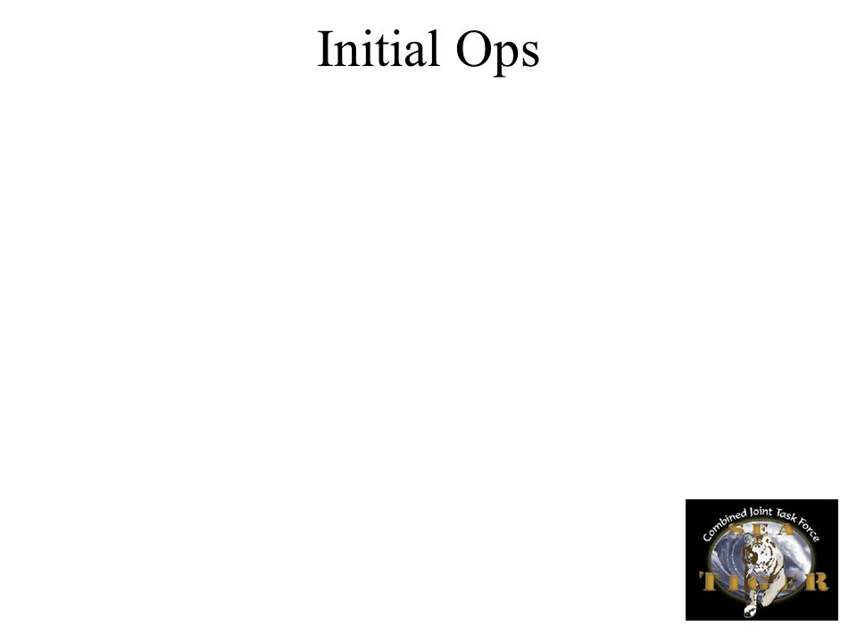 Initial Ops