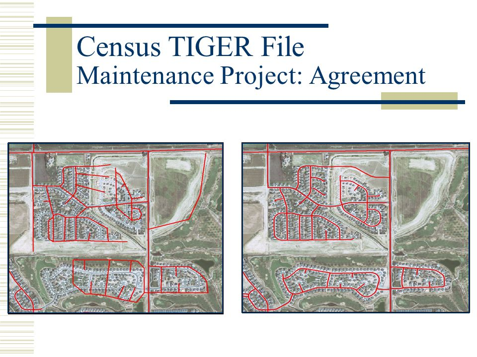 Census TIGER File Maintenance Project: Agreement
