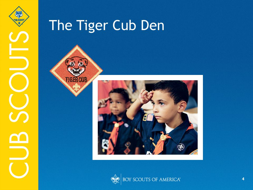 4 The Tiger Cub Den