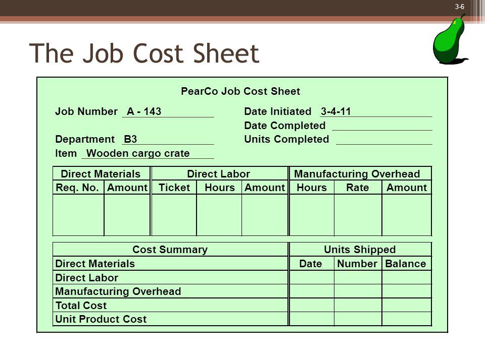 3-7 Measuring Direct Materials Cost Will E. Delite