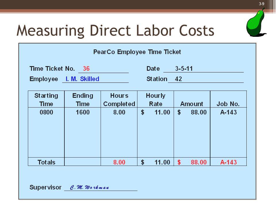 3-10 Job-Order Cost Accounting