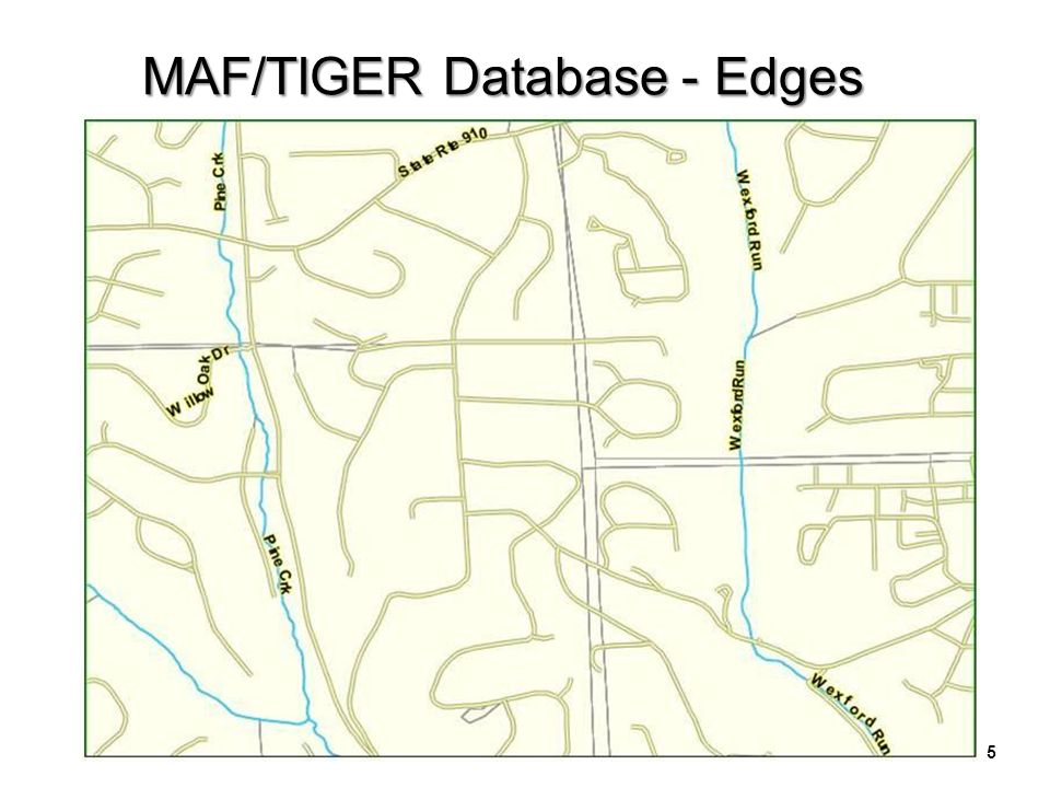 6 MAF/TIGER Database – County Subdivisions