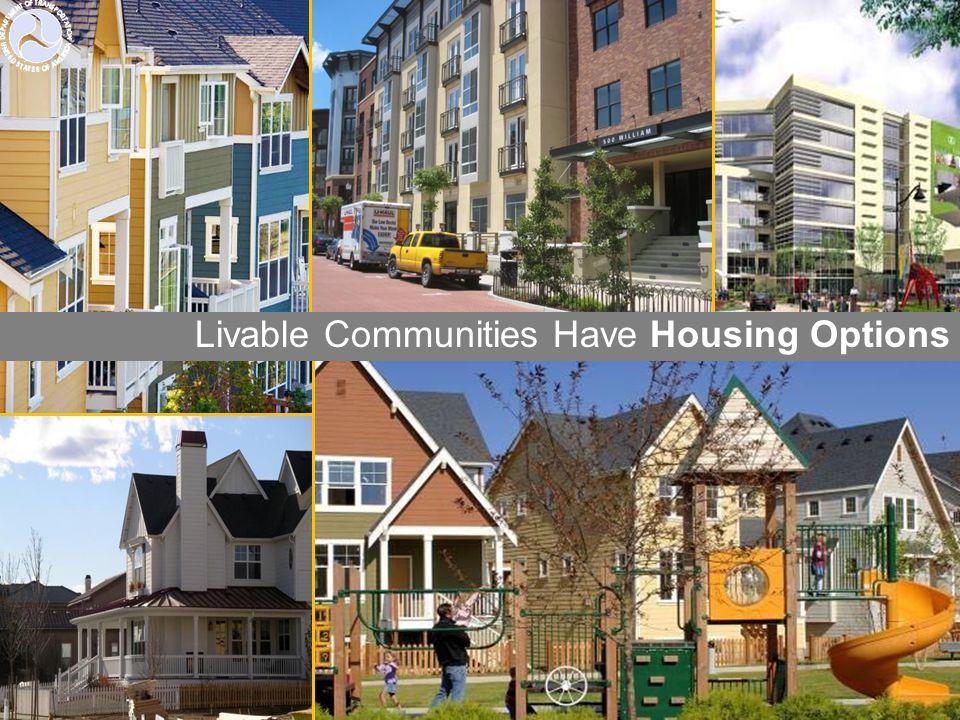 Livable Communities Have Housing Options