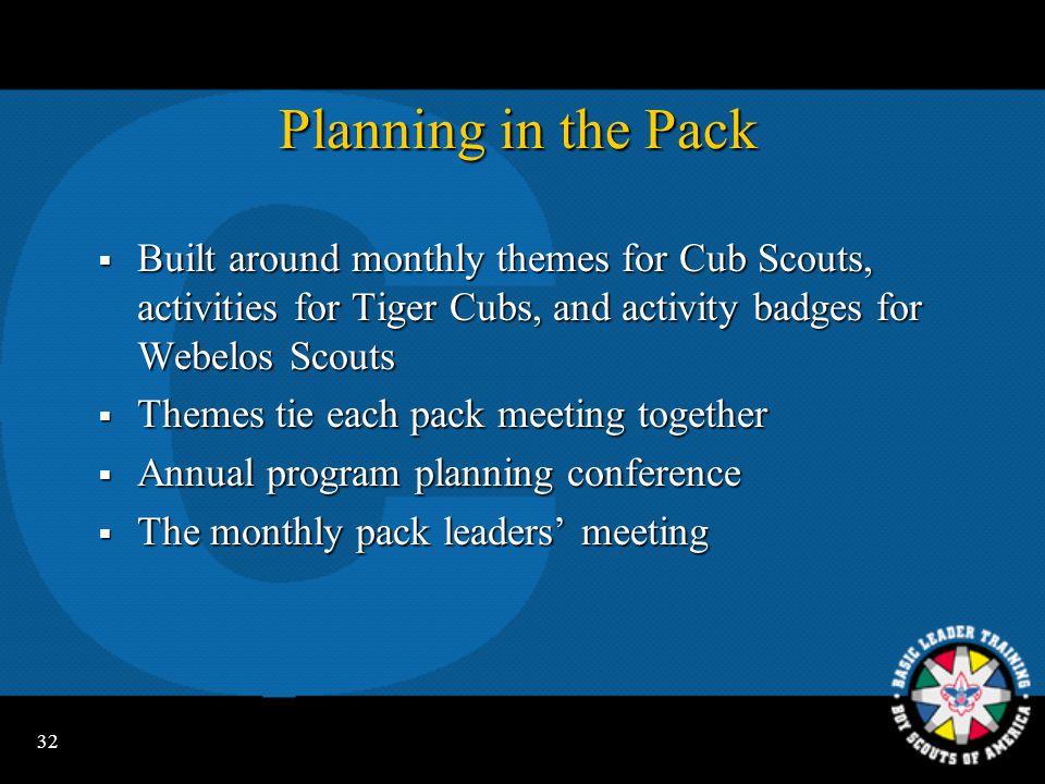 31 Video Segment - Program Planning