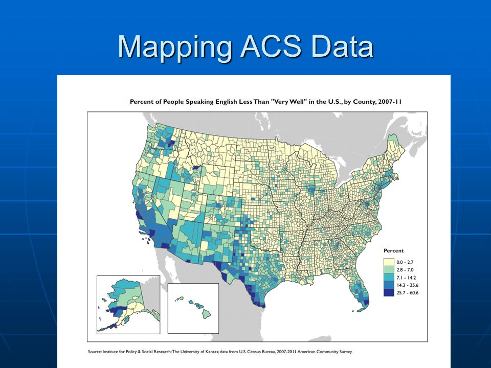 Mapping ACS Data