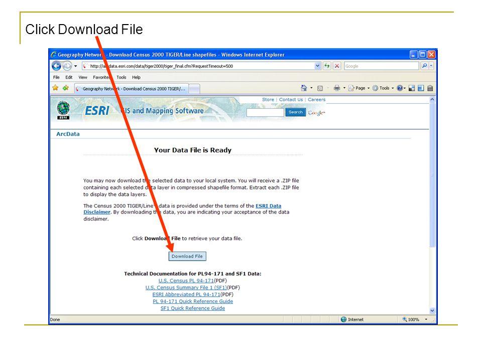 Click Download File