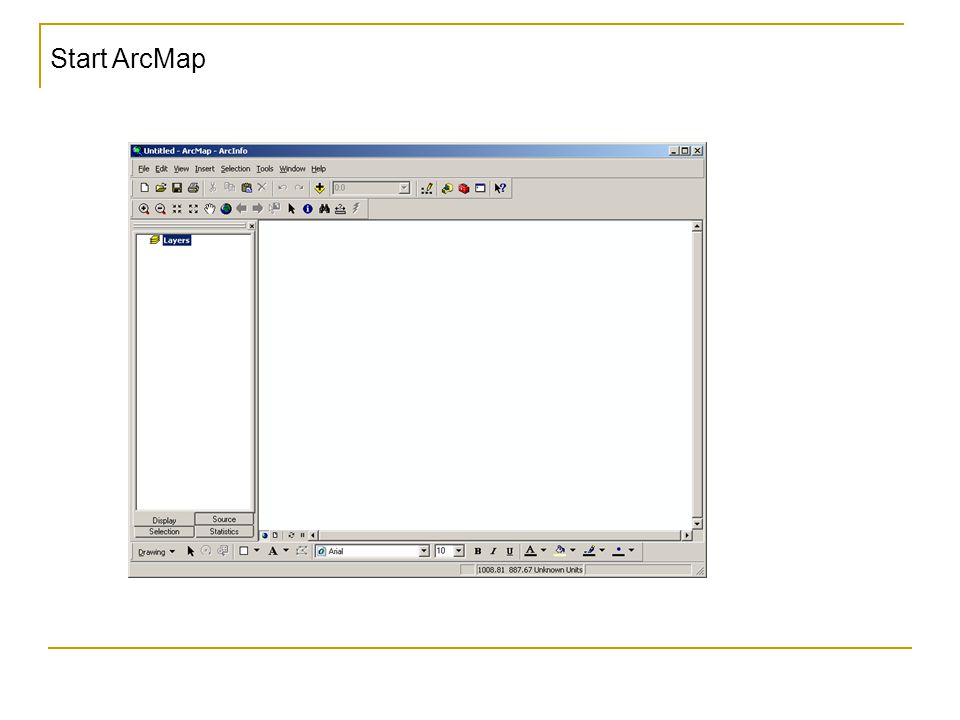 Start ArcMap