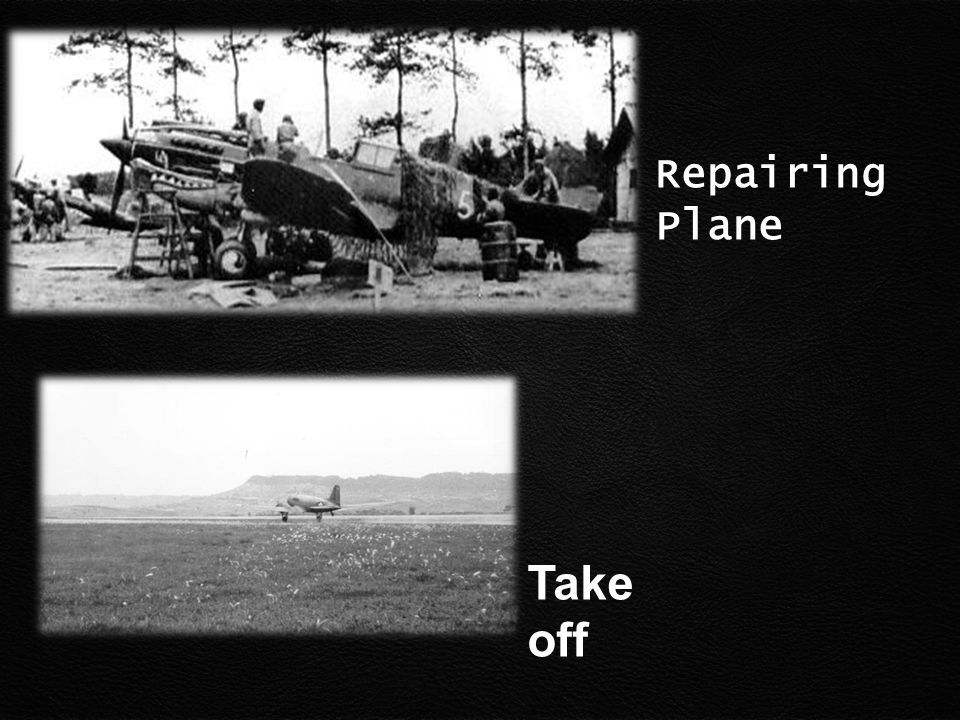 Repairing Plane Take off