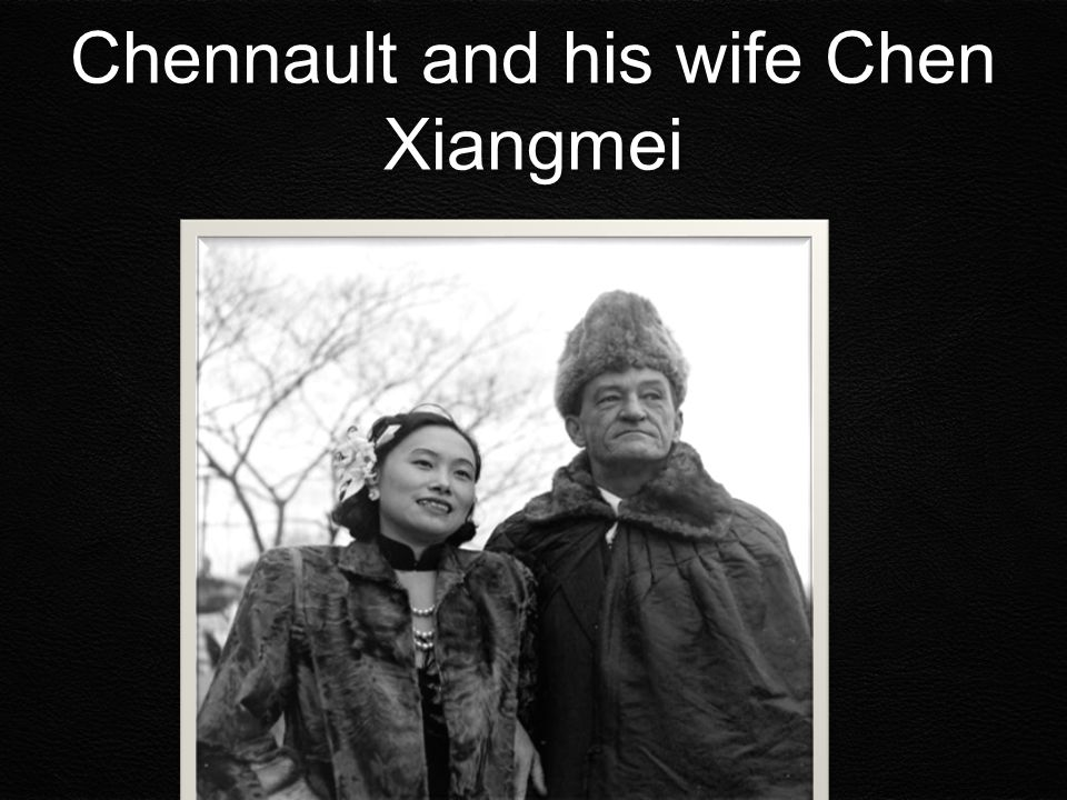 Chennault and his wife Chen Xiangmei