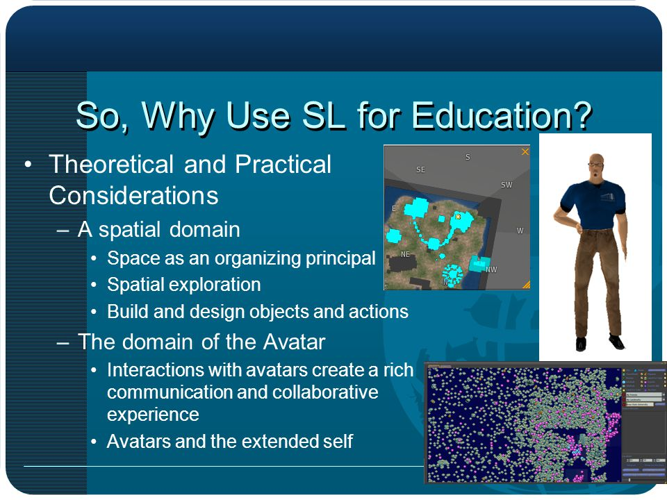 So, Why Use SL for Education.