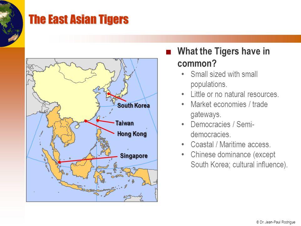 © Dr.Jean-Paul Rodrigue A. HONG KONG: CHINA'S MIDDLEMEN 1.