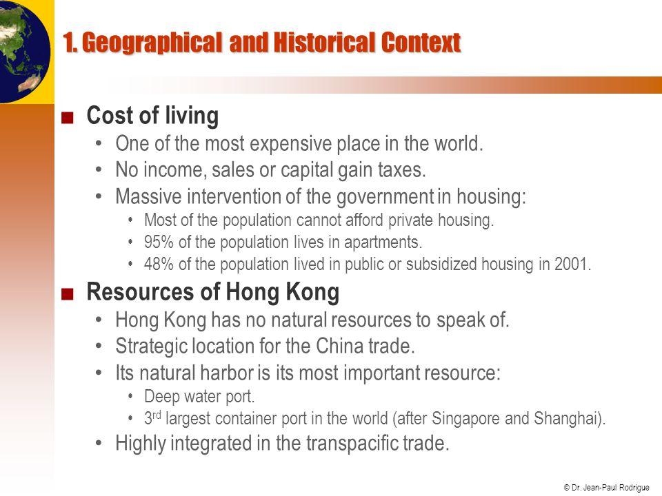 © Dr.Jean-Paul Rodrigue Formosa Strait Chungyang Range Taiwan China 1.