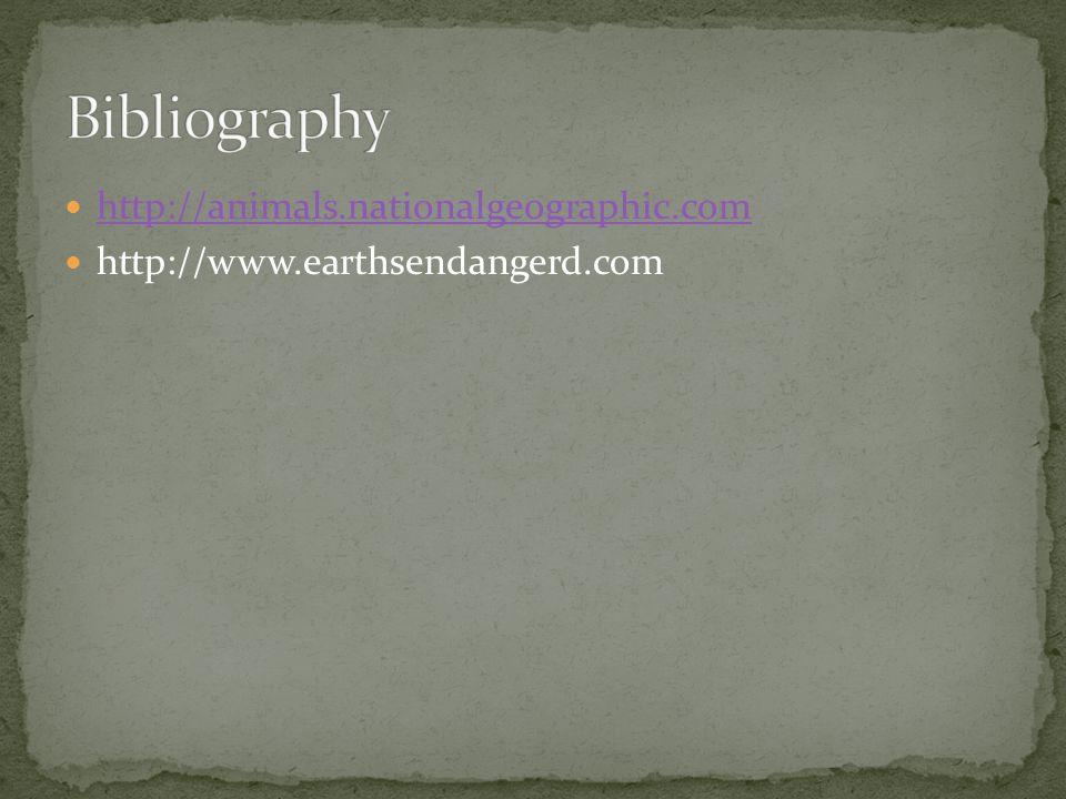 http://animals.nationalgeographic.com http://www.earthsendangerd.com