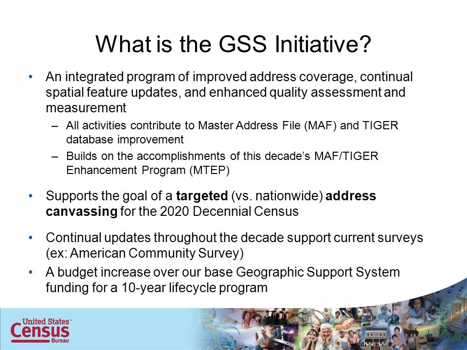 2 What is the GSS Initiative.