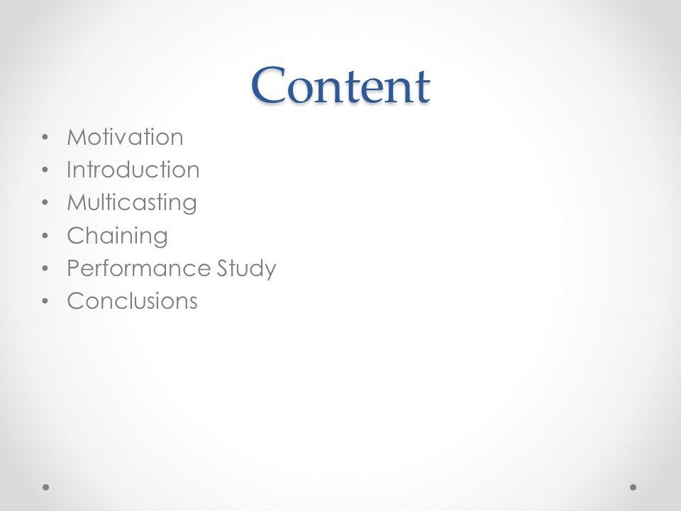 Motivation Paper written in 1997 by Sheu et al.