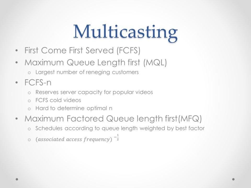 Multicasting
