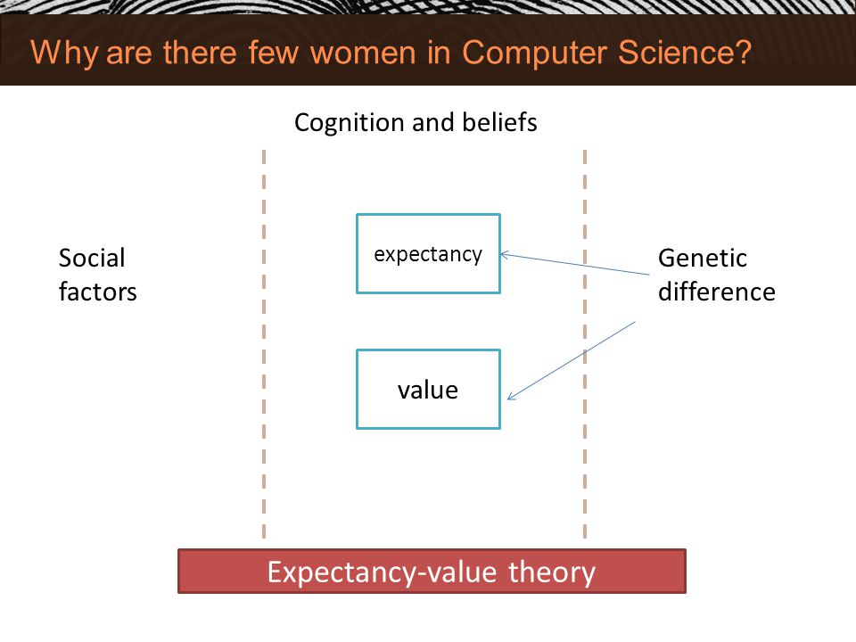 Why are there few women in Computer Science.