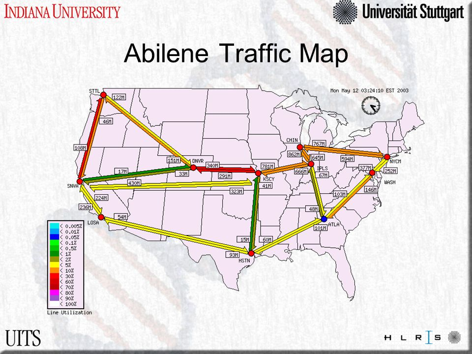 Abilene Traffic Map