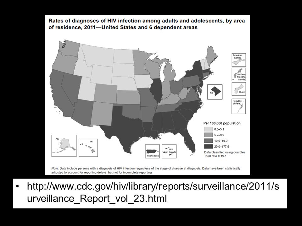 http://www.cdc.gov/hiv/library/reports/surveillance/2011/s urveillance_Report_vol_23.html